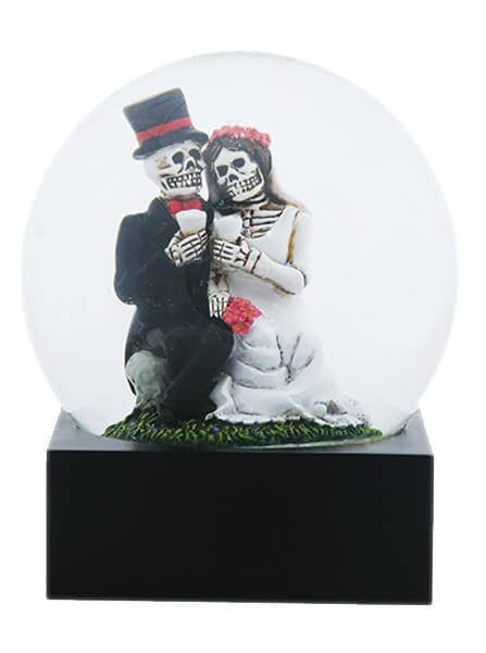 """Love Never Dies"" Water Globe by Summit Collection - www.inkedshop.com"