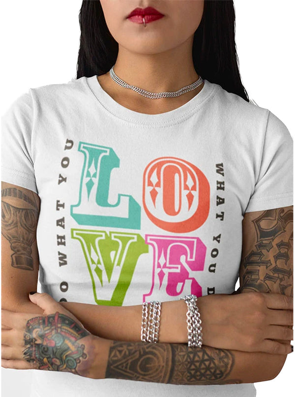 Womens Love Tee by Tat Daddy