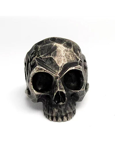Love Life Oxidized Skull Ring by Lor G Jewellery (Sterling Silver)