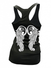 "Women's ""Love & Loyalty"" Racerback Tank by Cartel Ink (Black) - www.inkedshop.com"
