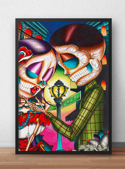 Love Street by Dave Sanchez for Black Market Art