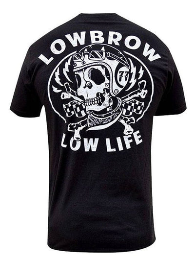 "Men's ""Low Life"" Tee by Black Market Art (Black) - www.inkedshop.com"