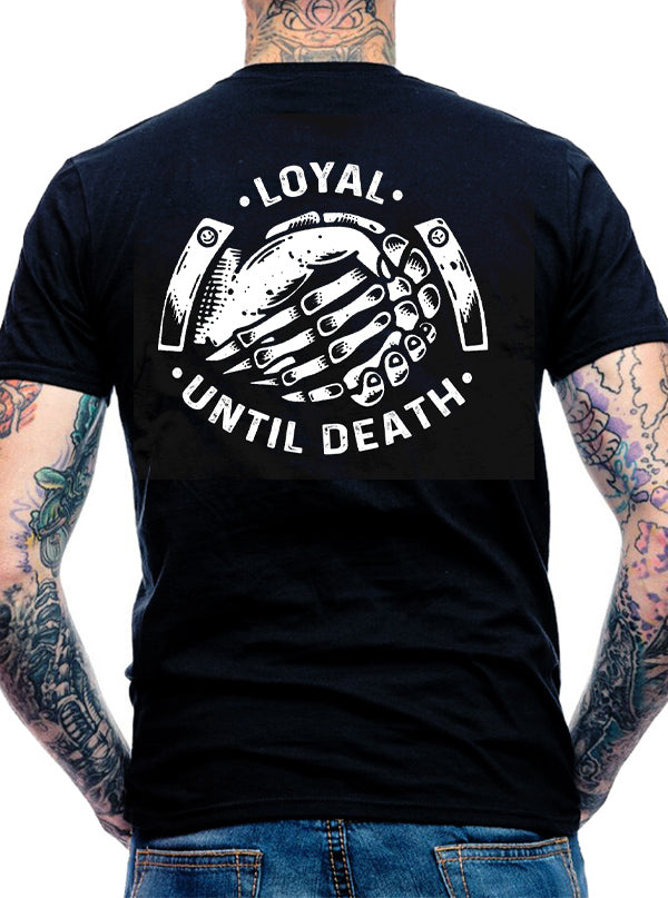 Men's Loyal Until Death Tee by Cartel Ink