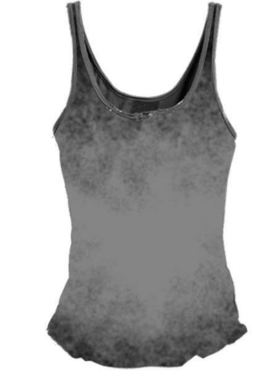 "Women's ""Built For Speed Hot Rod"" Lace Up Tank by Lethal Angel (Grey) - www.inkedshop.com"