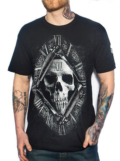 "Men's ""13th Hour"" Tee by Skygraphx (Black) - www.inkedshop.com"