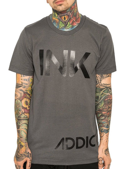 "Men's ""INK"" Tee by InkAddict (Heavy Metal)"