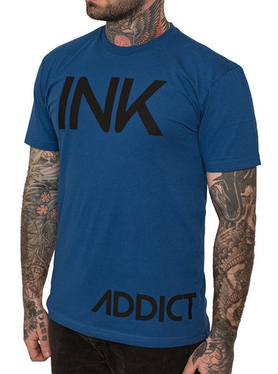 Men's INK Tee by InkAddict (Royal Blue)