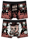 Men's Man of Your Dreams Boxer Briefs by Harebrained!