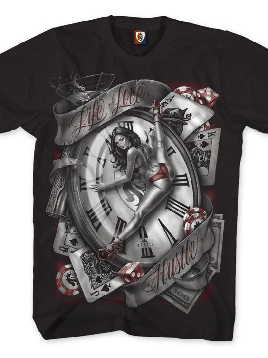 "Men's ""Man's Ruin"" Tee by OG Abel (Black) - www.inkedshop.com"