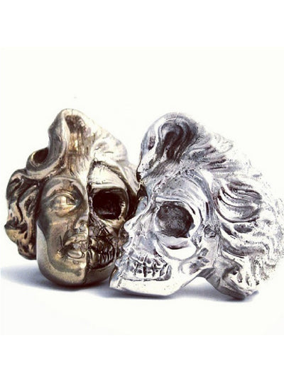 Marilyn Skull Ring by Lor G Jewellery