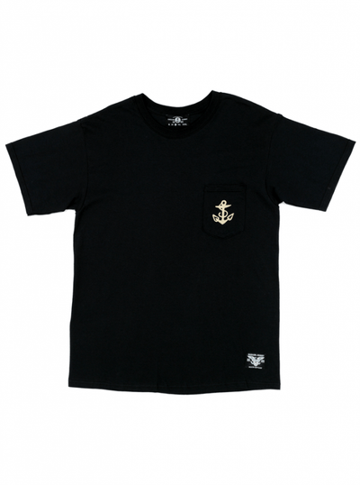 "Men's ""Martini Girl"" Tee by Sailor Jerry (Black) - www.inkedshop.com"
