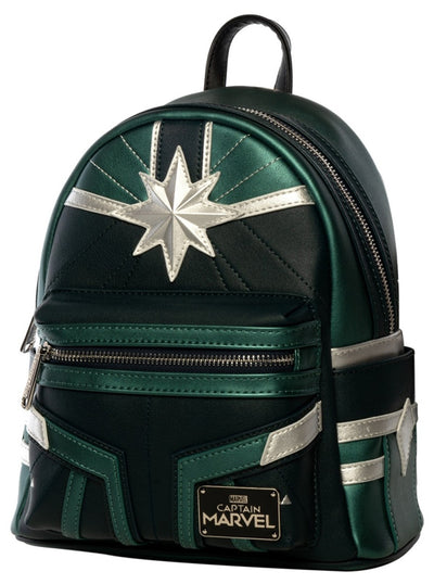 Marvel: Captain Marvel Mini Backpack by Loungefly (Green Suit)