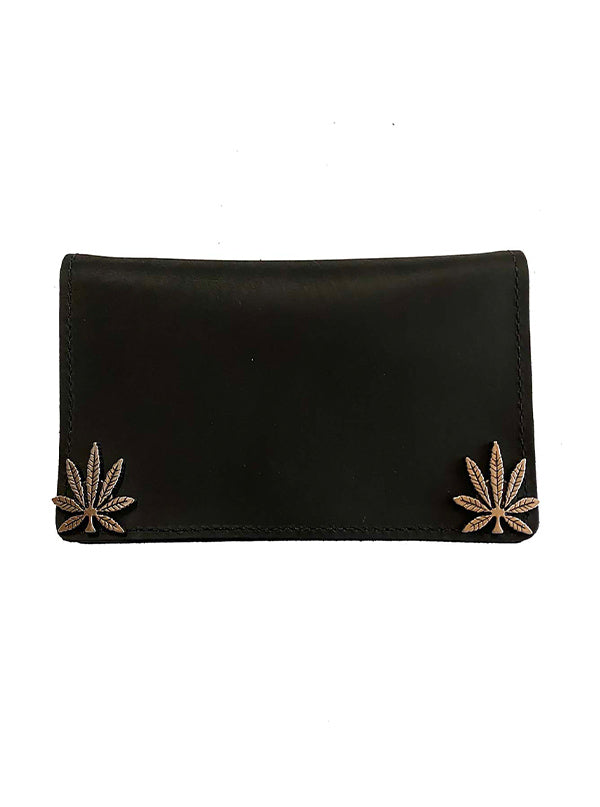 "Mary Jane 6"" Leather Wallet by Gypsy Treasures"