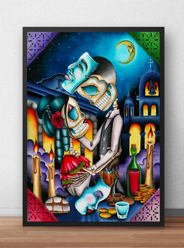 Masquerade by Dave Sanchez for Black Market Art