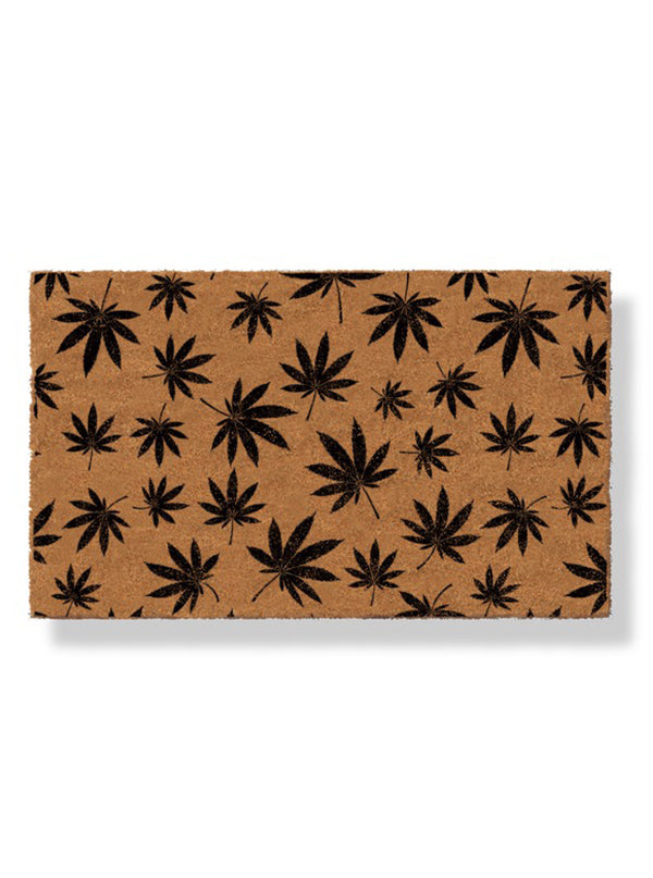 Cannabis Doormat by Bison