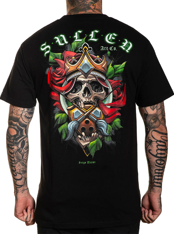 Men's Mazur Badge Tee by Sullen