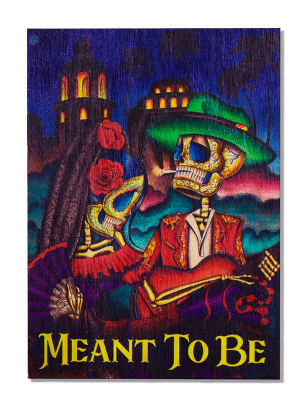 Meant to Be Wood Art by Dave Sanchez for Black Market Art Company