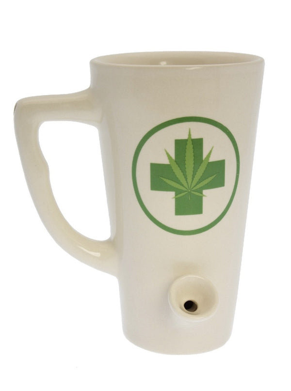 The Green Medic Tall Wake & Bake Mug