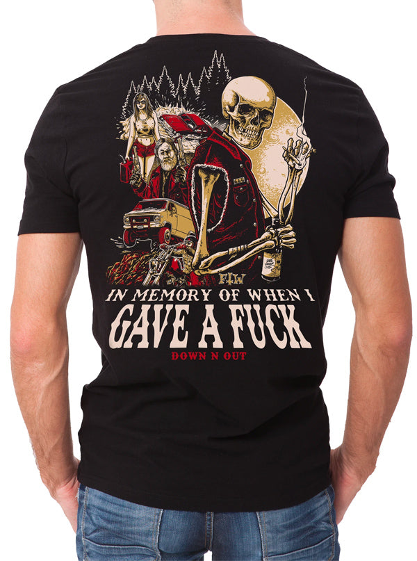 Men's In Memory Tee by Down N Out