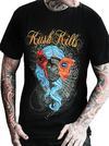"Men's ""Beauty Lies Within"" Tee by Kush Kills Clothing (Black) - InkedShop - 1"