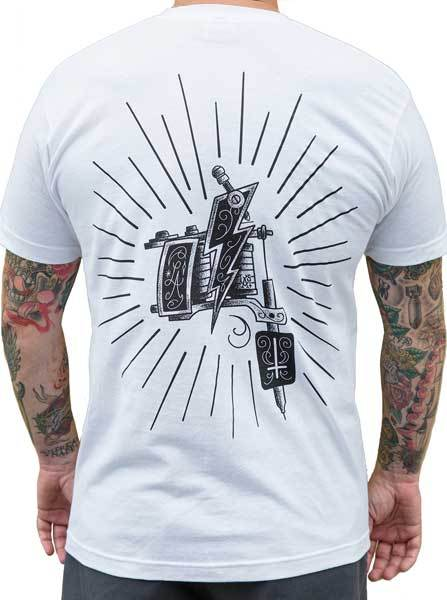 Men's Machine Tee by Black Market Art