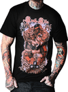 "Men's ""Queen of Clubs"" Tee by Kush Kills Clothing (Black) - InkedShop - 1"