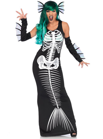 "Women's ""Skeleton Siren"" Costume by Leg Avenue (Black)"