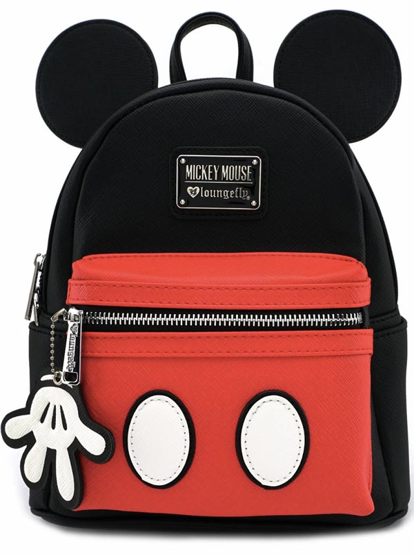 Mickey Suit Mini Backpack by Loungefly