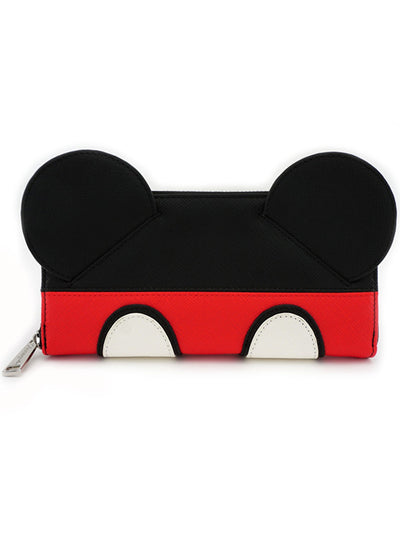 """Mickey Suit"" Wallet by Loungefly (Black)"
