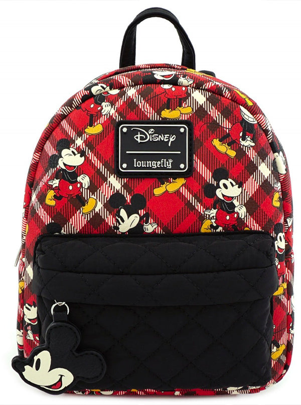 Mickey Mouse Mini Backpack by Loungefly (Red)