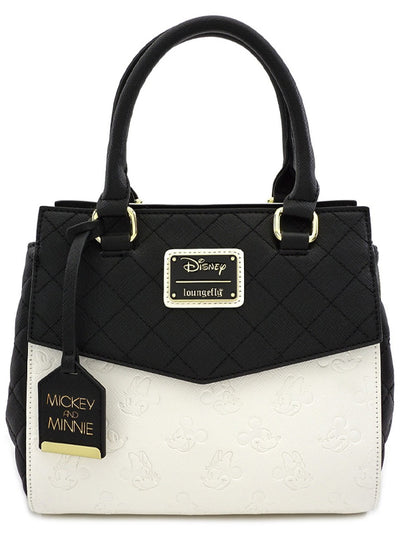 Mickey & Minnie Tote Bag by Loungefly