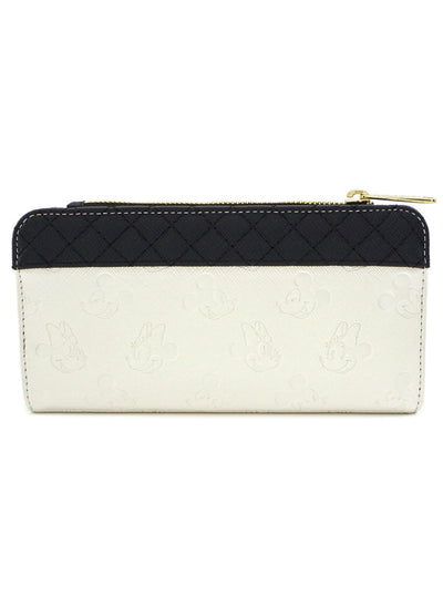 Mickey & Minnie Flap Wallet by Loungefly
