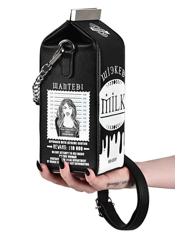 Wicked Milk Handbag by Killstar