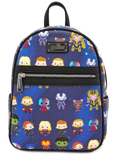 Marvel: Avengers Endgame Chibi Print Mini Backpack by Loungefly