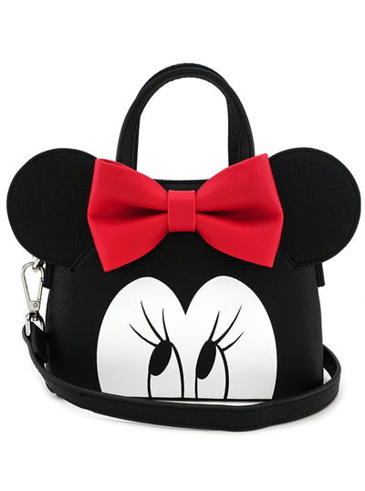 Minnie Eyes Micro Dome Crossbody Bag by Loungefly