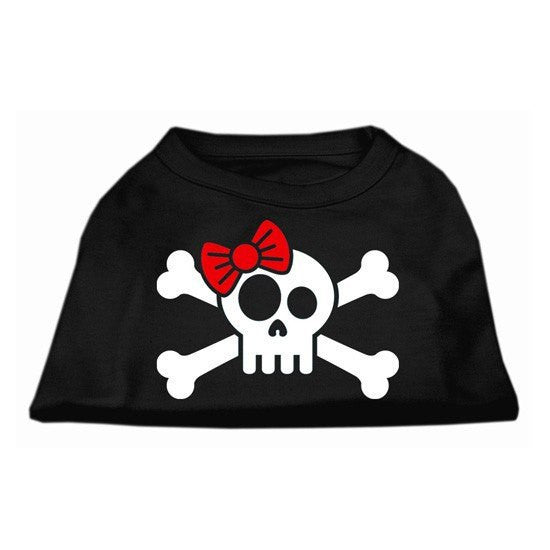 """Skull & Crossbones Bow"" Screen Print Shirt by Mirage (More Options) - www.inkedshop.com"