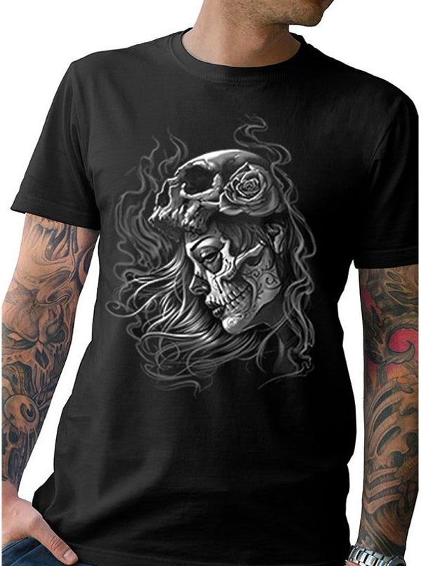 "Men's ""Misery"" Tee by Tat Daddy (Black)"