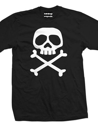 "Men's ""The Misfits Captain"" Tee by Aesop Originals (Black) - www.inkedshop.com"