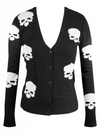"Women's ""Miss Poison Skull"" Cardigan by Double Trouble Apparel (Black) - www.inkedshop.com"