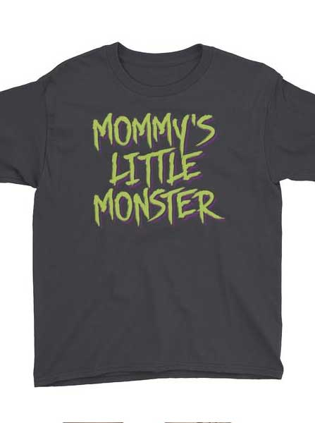Kid's Mommy's Little Monster Tee
