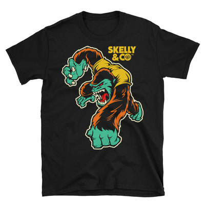"Men's Crazy Rocky"" Tee by Skelly & Co (Black)"
