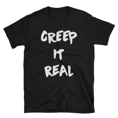 "Men's ""Creep it Real"" Tee (Black)"