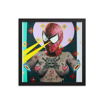 Sinner Framed Print by Tyler Tilley