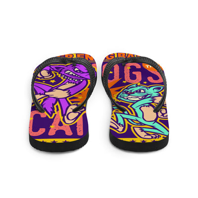 "Unisex ""C&D"" Flip Flops by Skelly & Co"