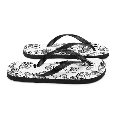 "Unisex ""Action"" Flip Flops by Skelly & Co"