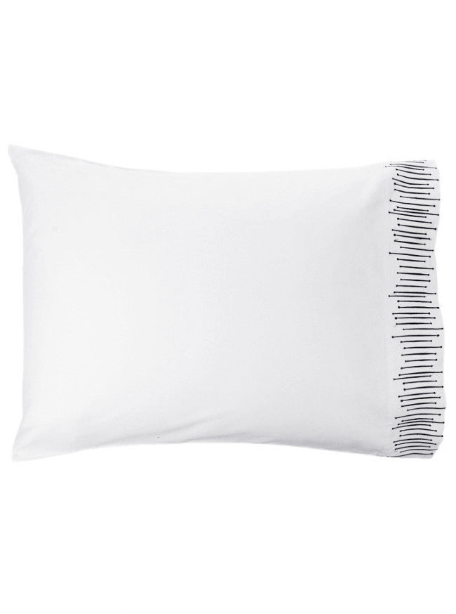 """Modern Vibes"" Pillowcases by Sin in Linen - www.inkedshop.com"