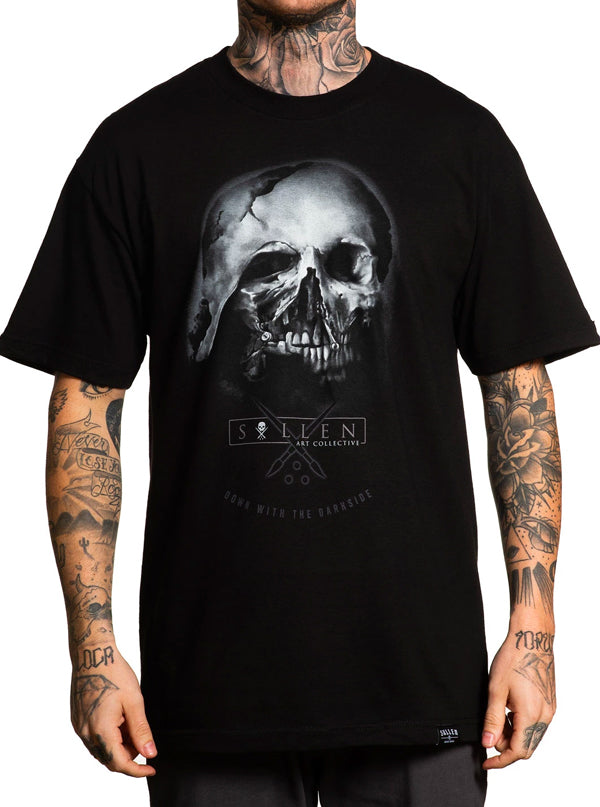 Men's Molten Skull Tee by Sullen