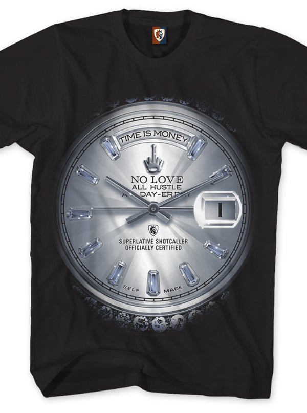Men's Time is Money - Platinum Edition Tee by OG Abel