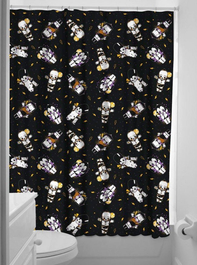 Goth Shower Curtain Part - 25: Inked Shop