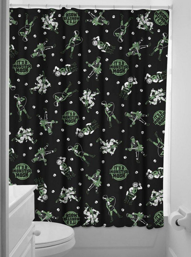 Goth Shower Curtain Part - 15: Inked Shop